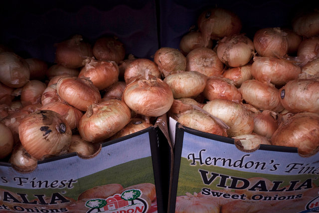 Onions in Boxes