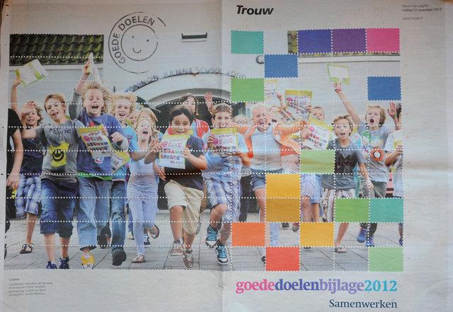Stichting Kinderpostzegels bijlage Trouw 20 nov. 2012