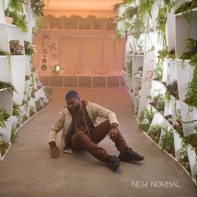 Khalid x New Normal Single artwork