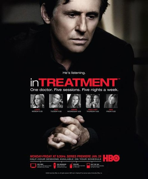 Art placement in multiple seasons of in Treatment