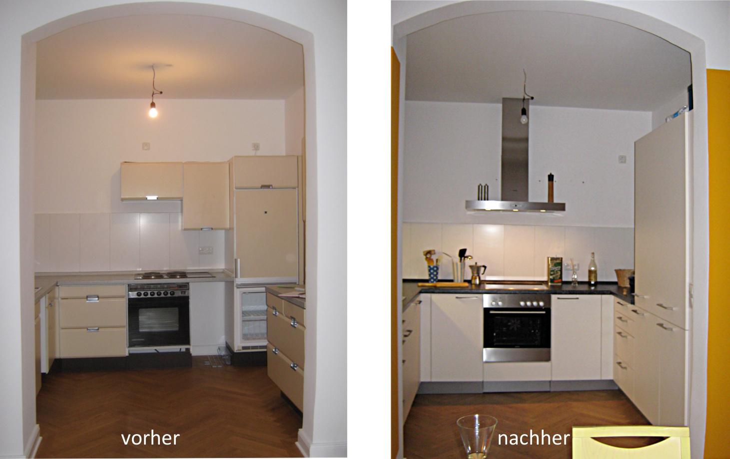 Küchenplanung | Fotos vorher - nachher