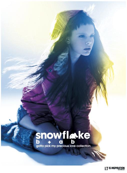 b+ab SNOWFLAKE collection 2010
