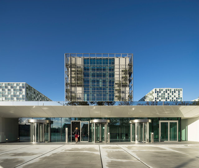 International Criminal Court, The Hague. Schmidt Hammer Lassen Architects