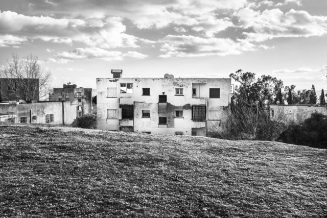 Quartier résidentiel.  El Kef, 2014.