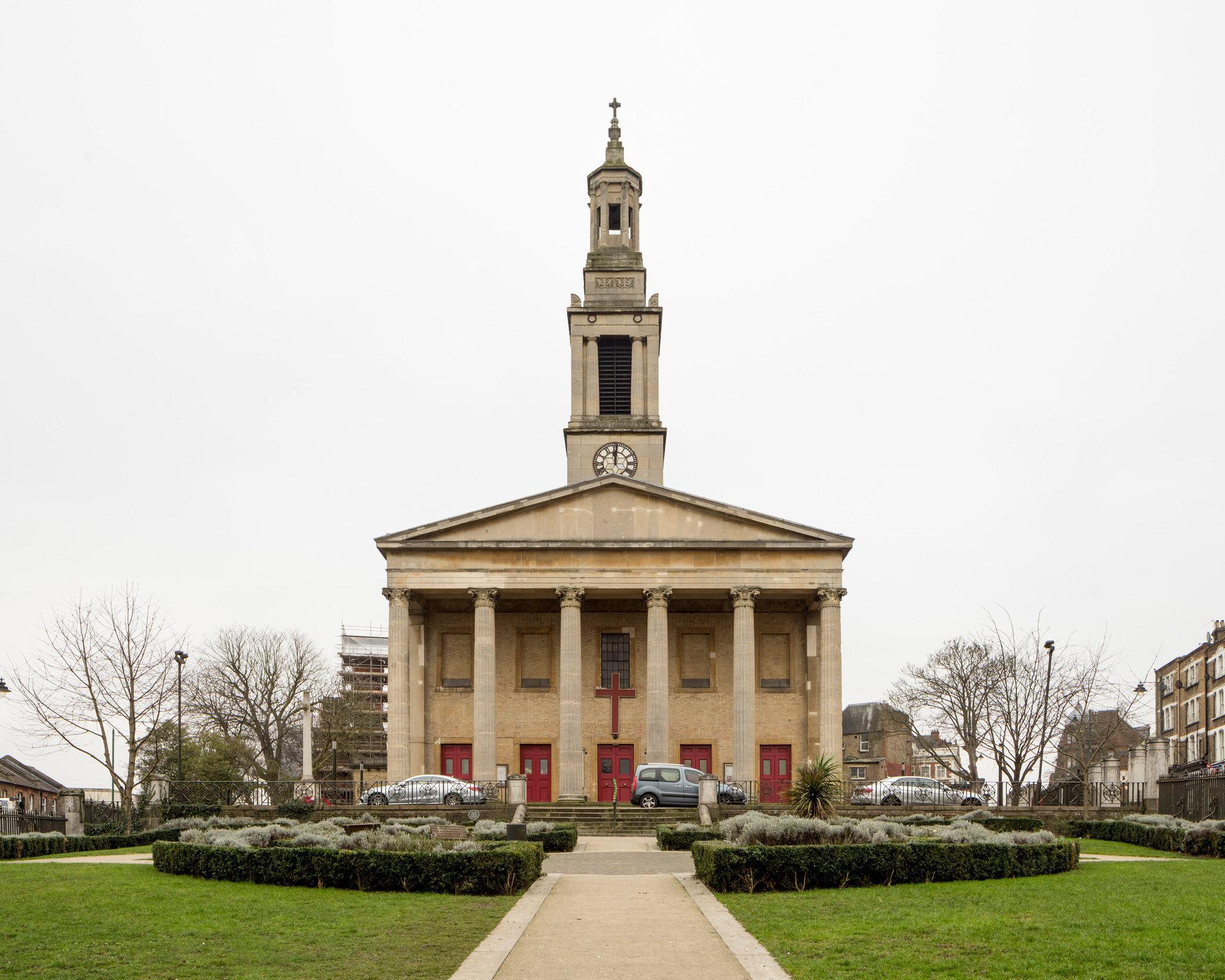 St Luke's. West Norwood. Francis Octavius Bedford