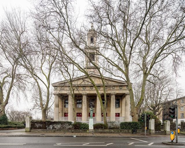 St Georges, Camberwell. Francis Octavius Bedford