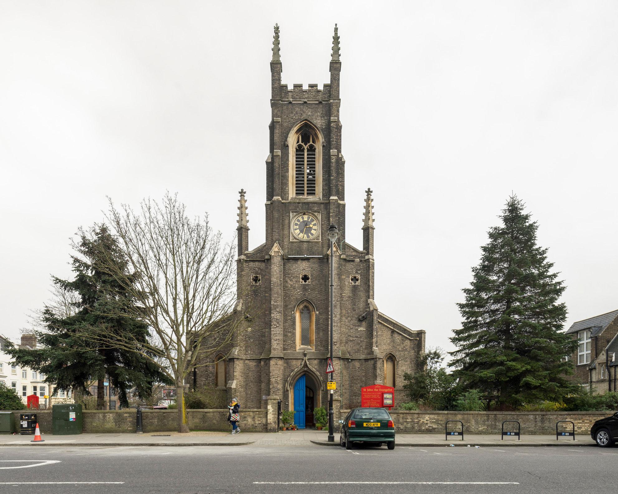 St John's, Islington. Charles Barry