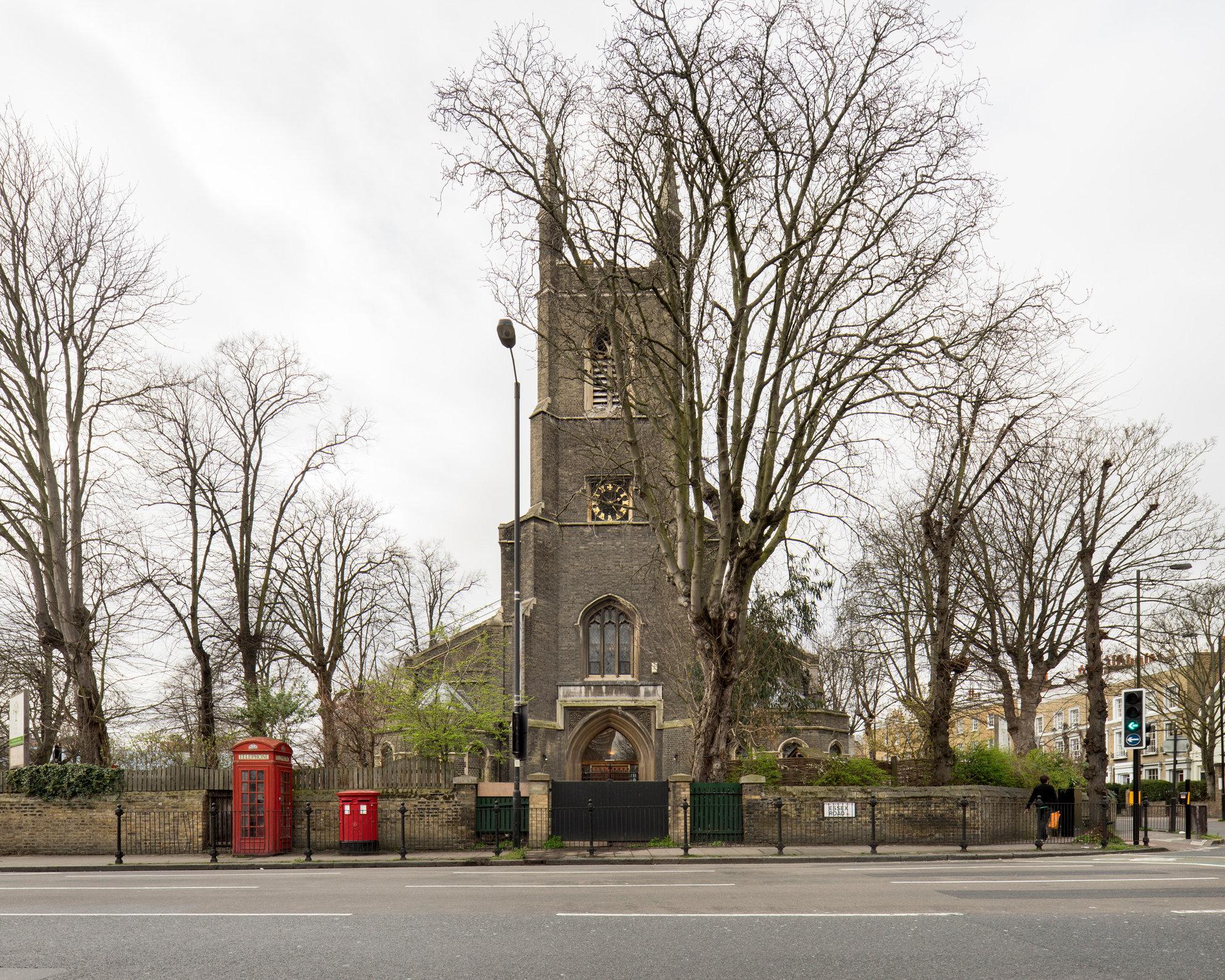 St Paul's, Islington. Charles Barry