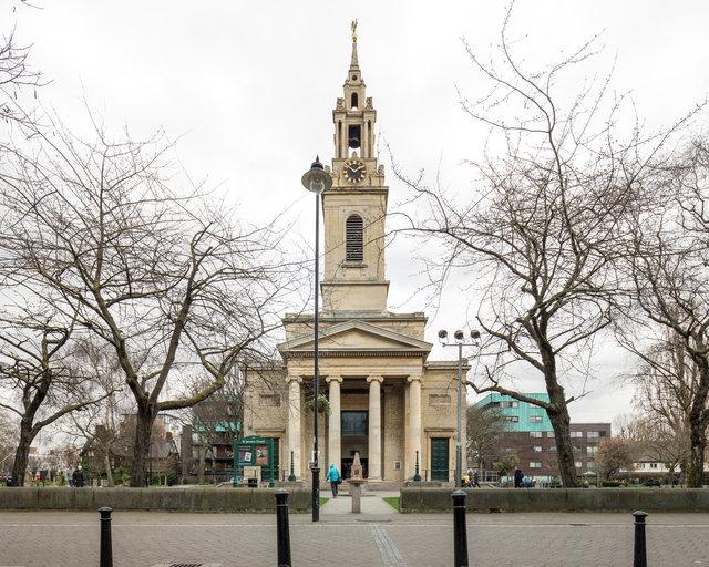 St James', Bermondsey. James Savage