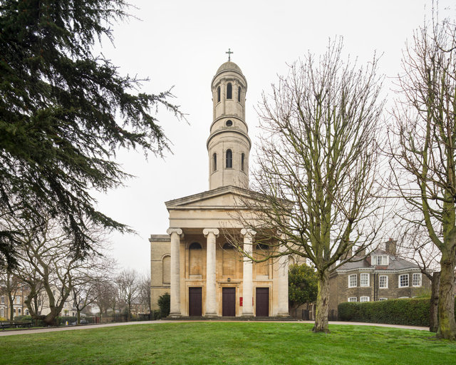 St Anne's, Wandsworth. Robert Smirke