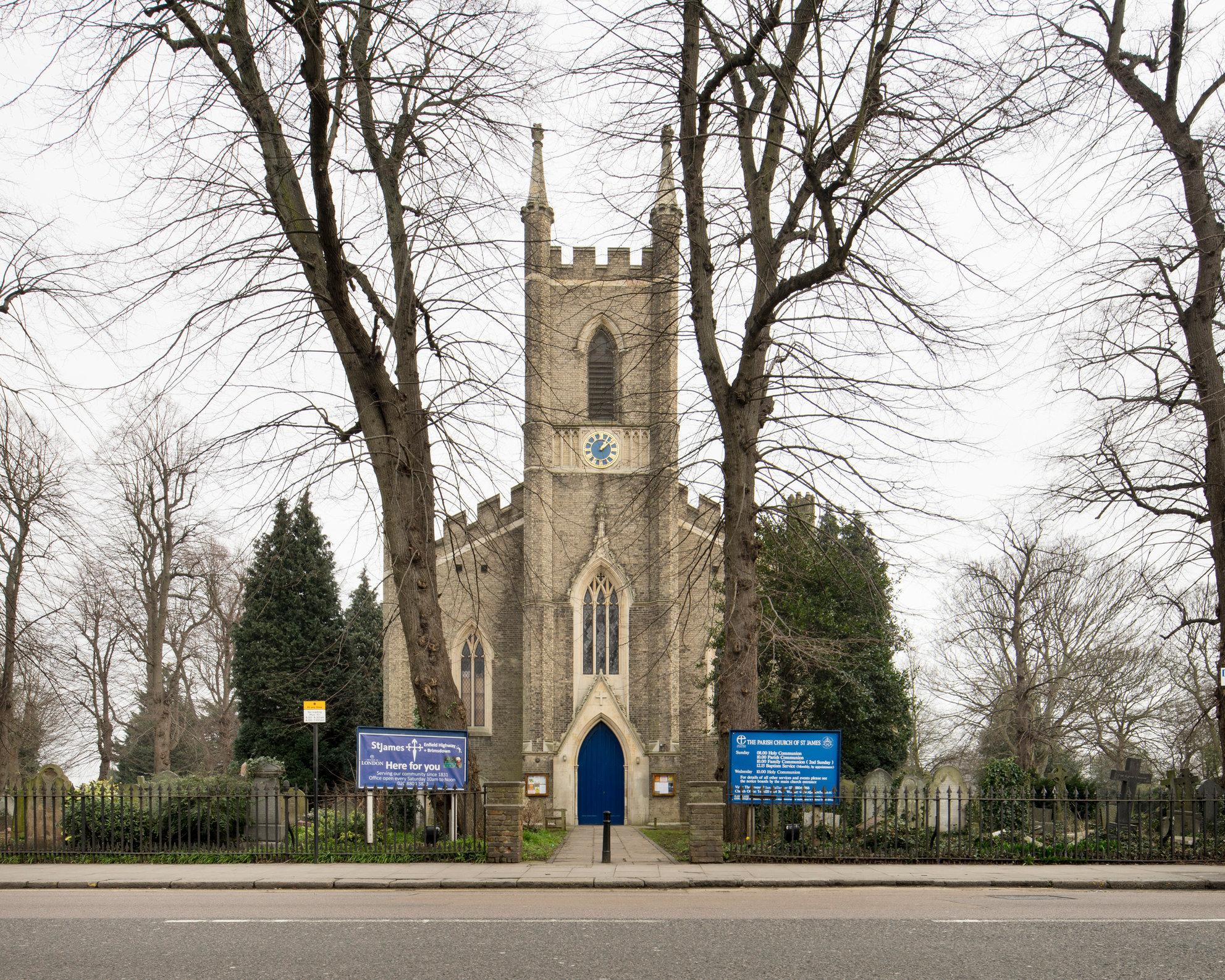 St James', Enfield.William Conrad Lochner