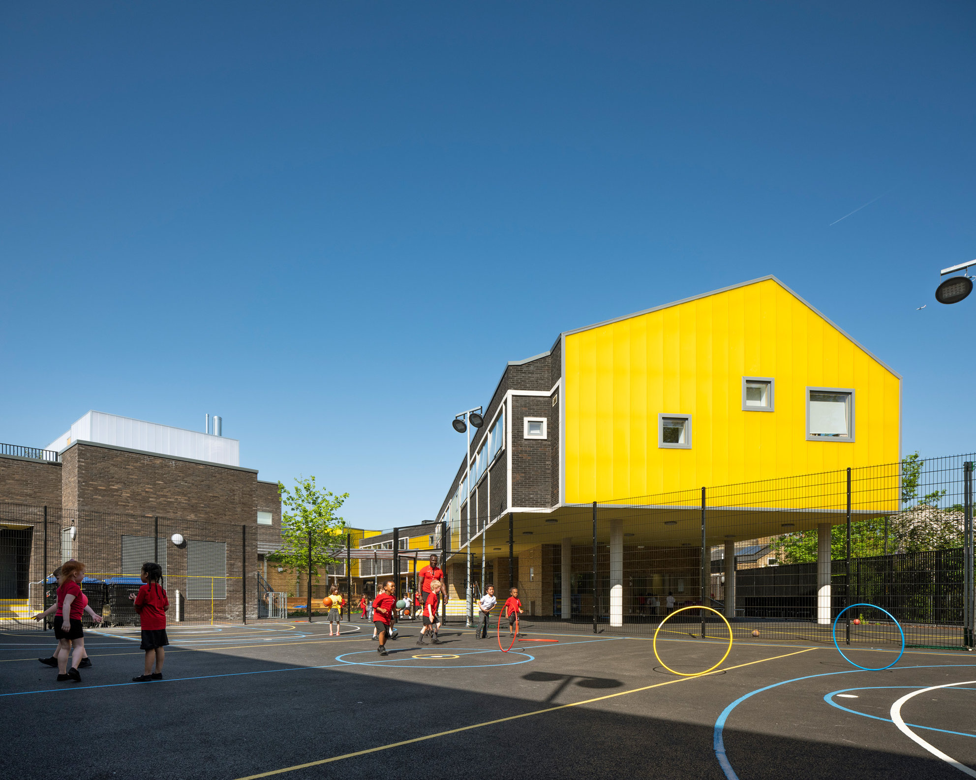 Bellenden Primary School. Cottrell and Vermeulen Architects