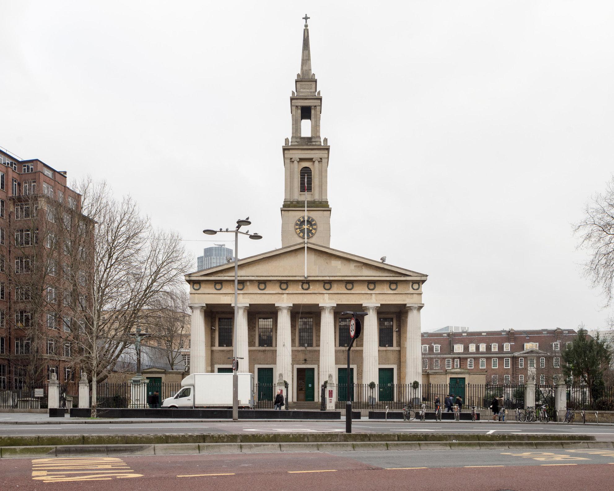 St John's Waterloo. Francis Octavius Bedford
