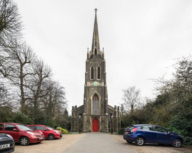 St Michael's, Highgate. Lewis Vulliamy