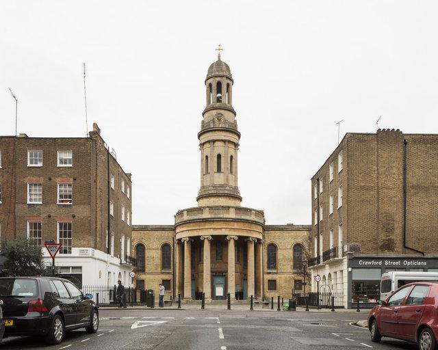 St Mary's, Bryanston Square. Robert Smirke