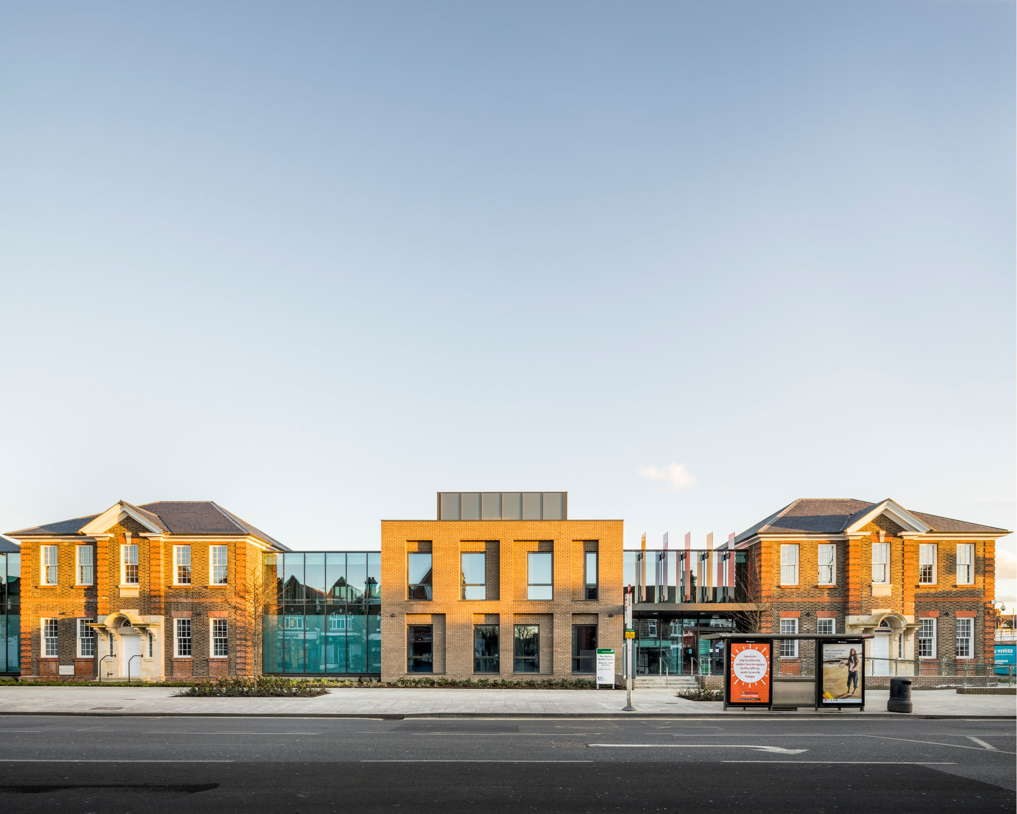 Nelson Health Centre South London. Murphy Phillips Architects