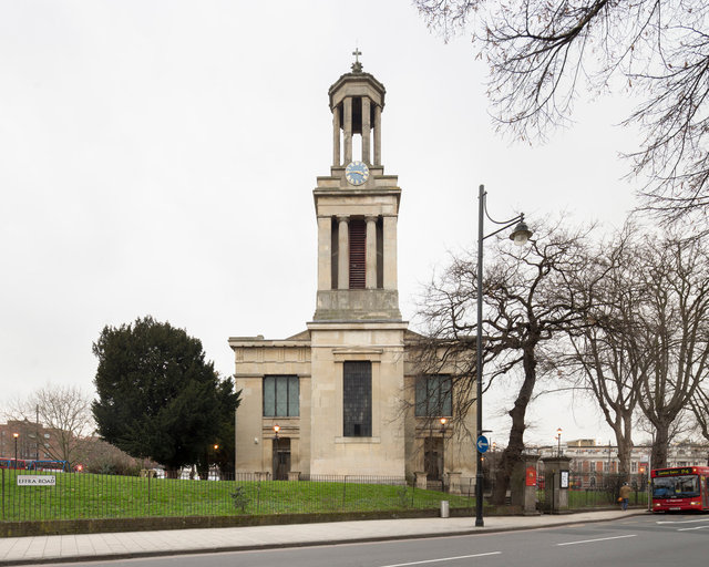 St Matthew's, Brixton. Charles Porden