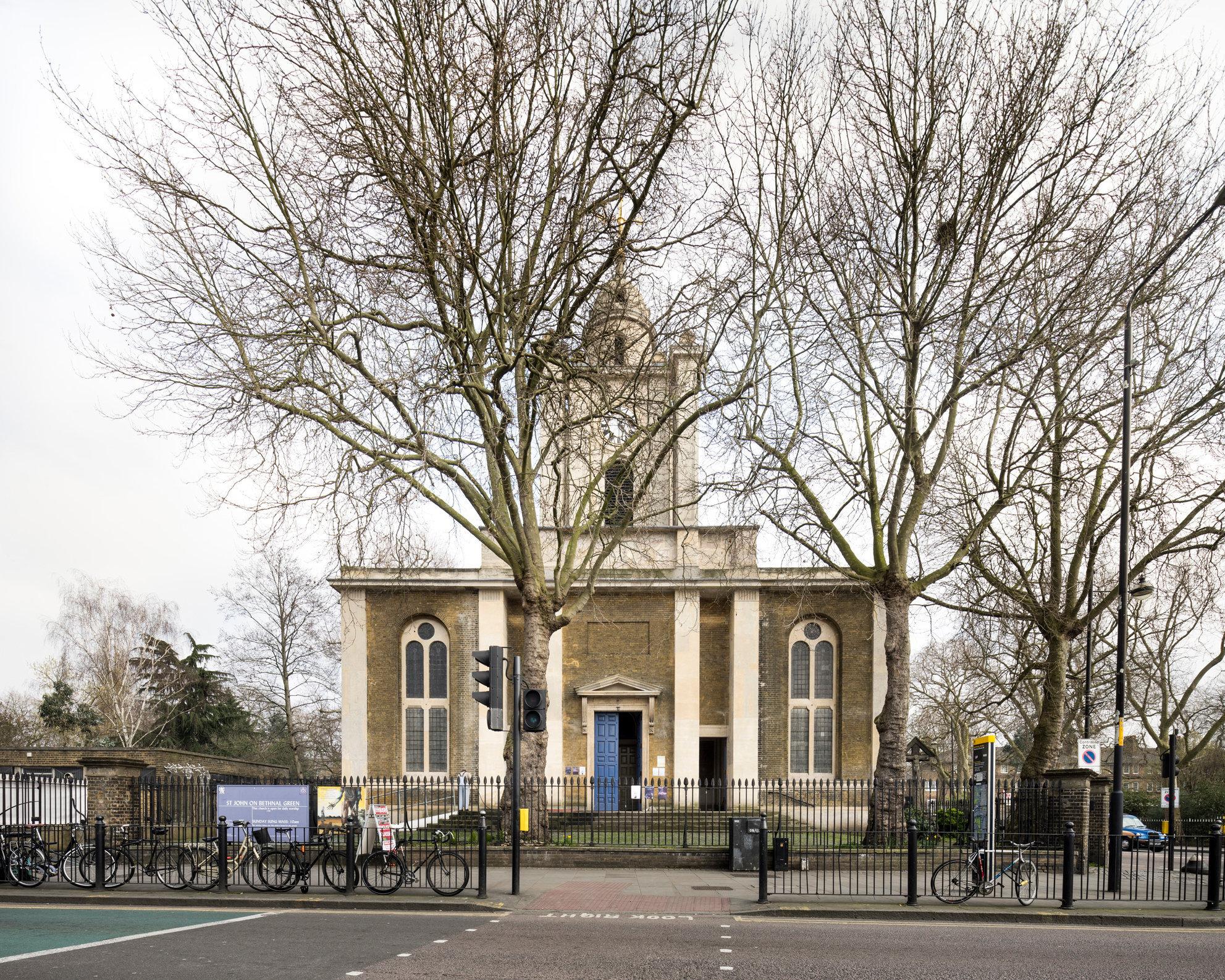 St John's, Bethnal Green. Sir John Soane