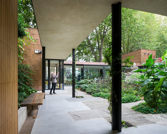 Garden Museum. Dow Jones Architects