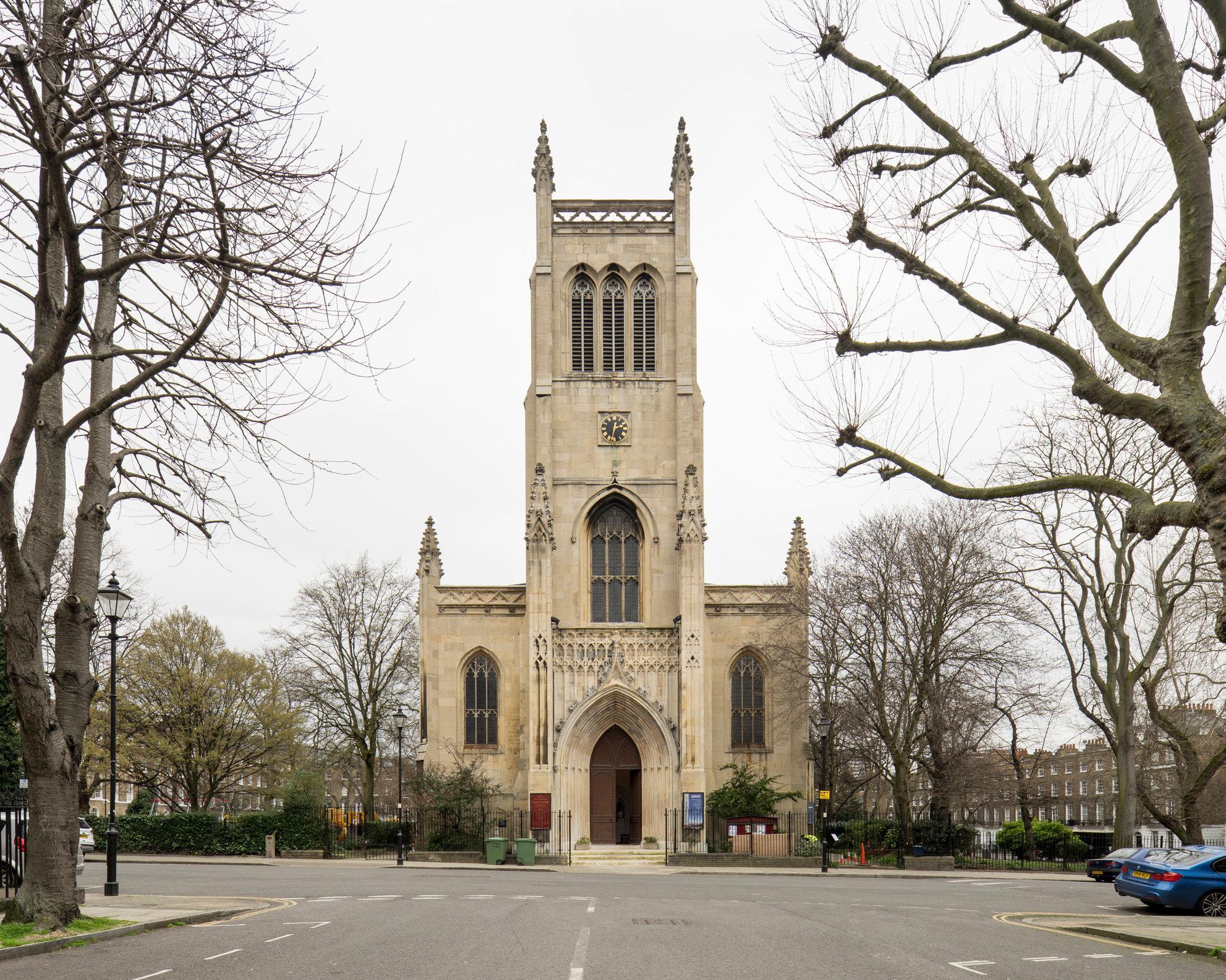St Mark's, Clerkenwell. William Chadwell Mylne
