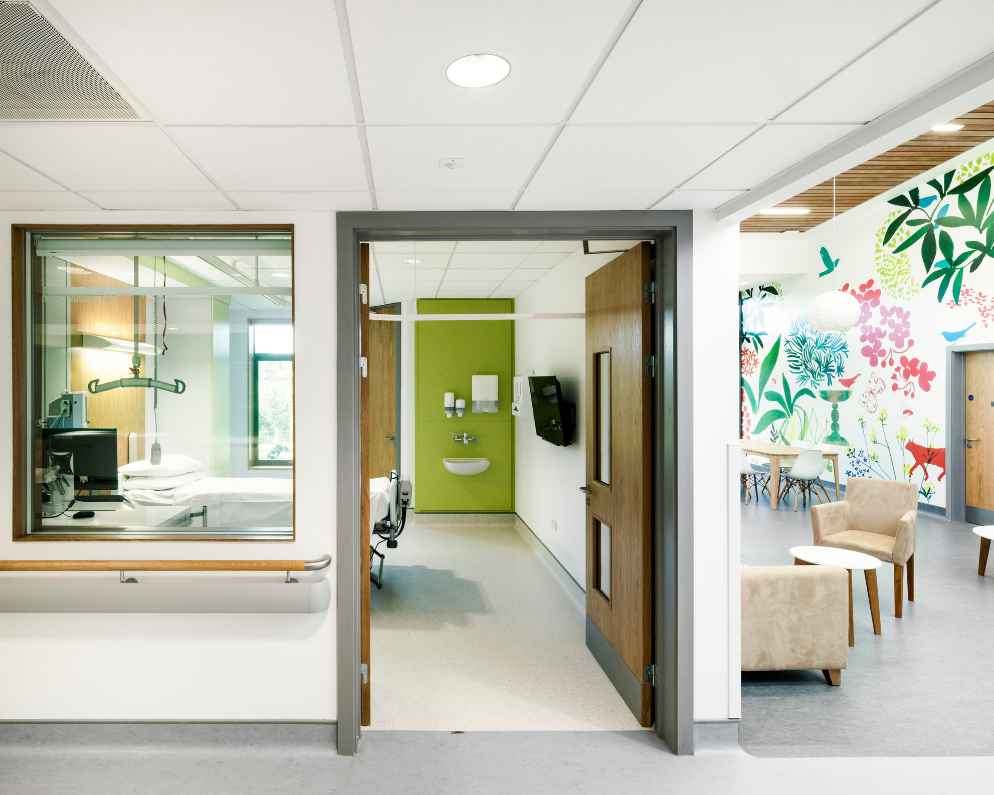 Lane Fox Remo Respiratory Centre - East Surrey Hospital. Murphy Phillips Architects