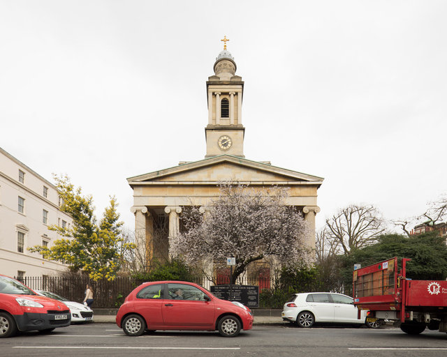 St Peter's, Eaton Square. Henry Hakewill