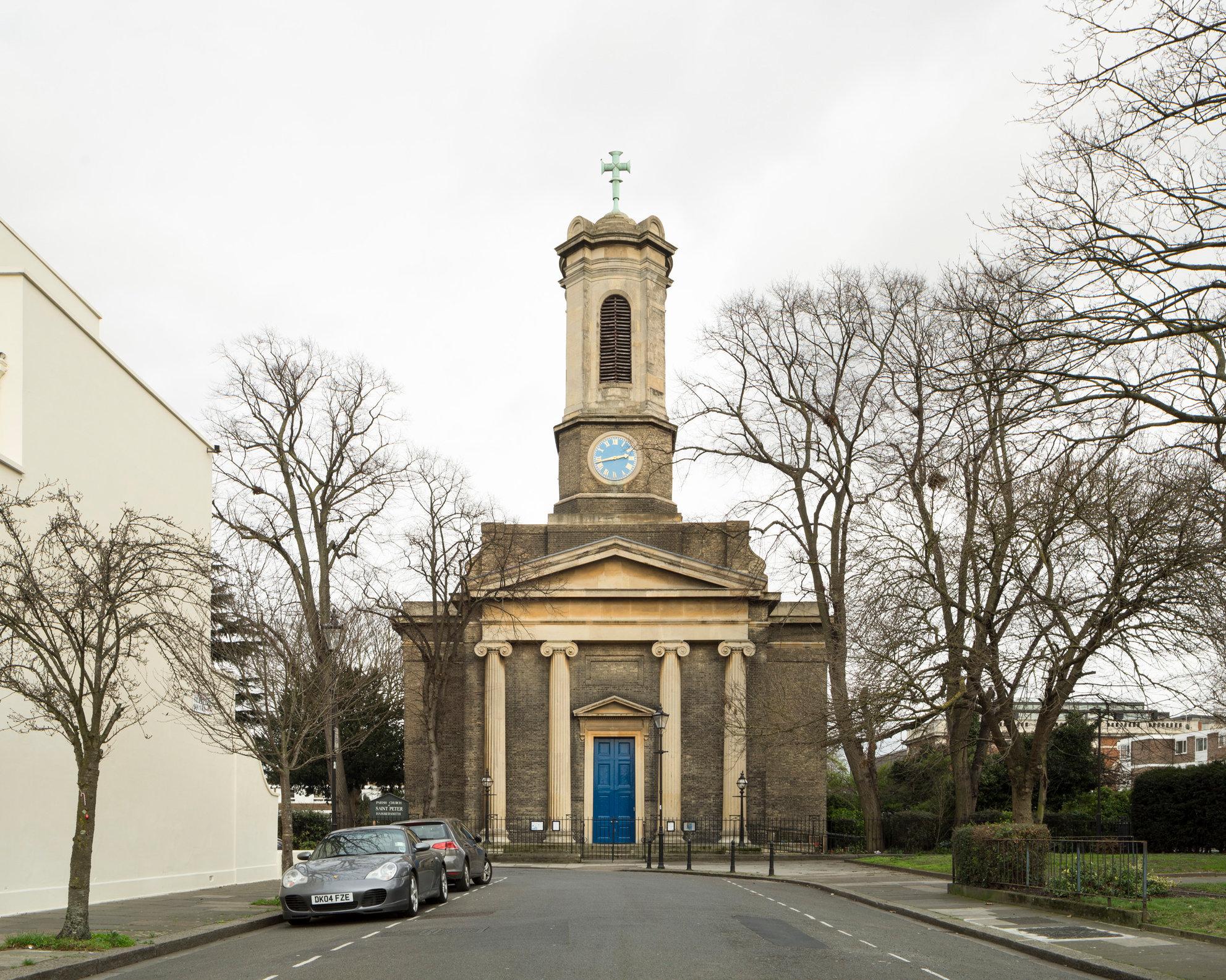 St Peter's, Hammersmith. Edward Lapidge