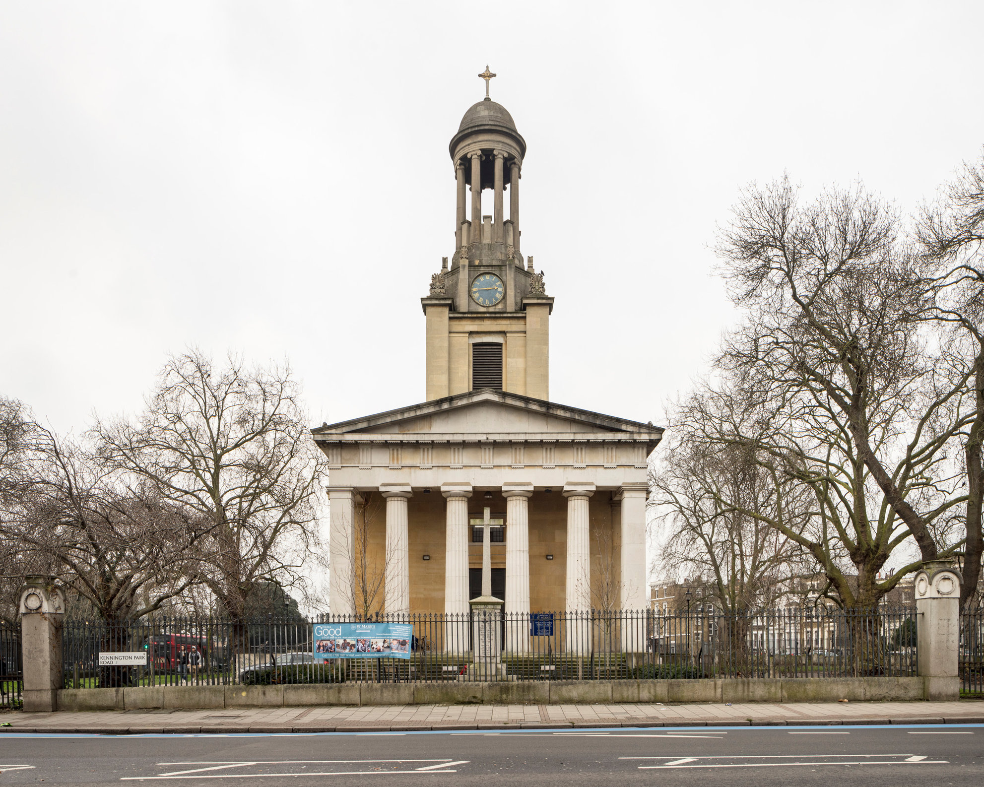 St Mark's Kennington. David Roper and A B Clayton