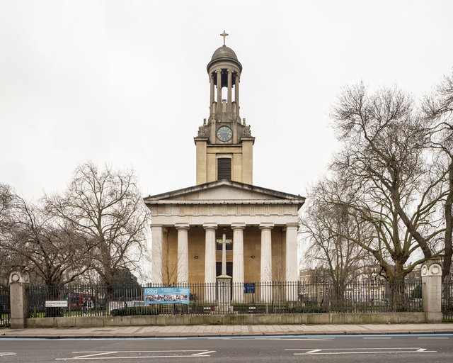 St Mark's Kennington. David Roper and A B Clayton