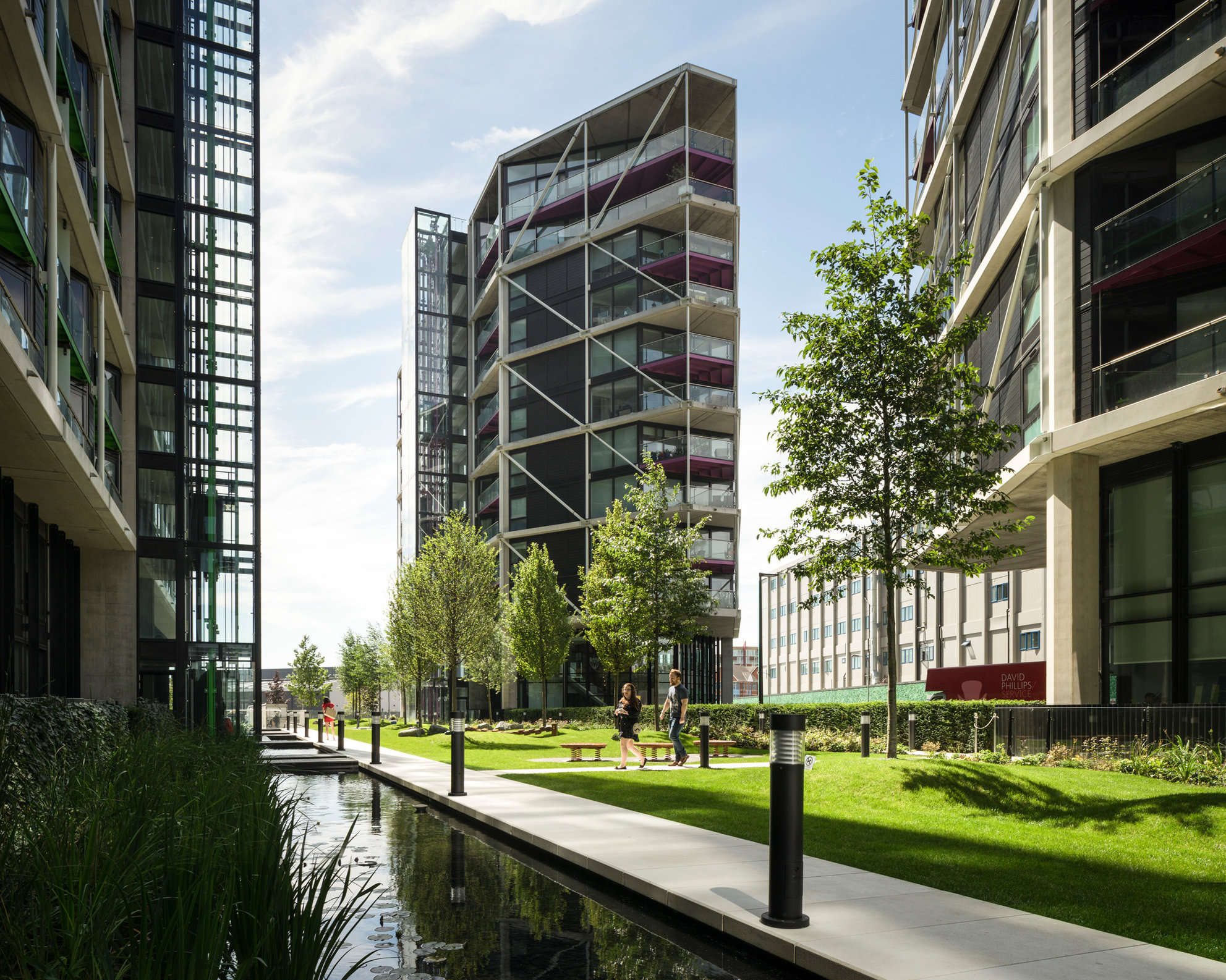 Riverlight. Rogers Stirk Harbour and Partners