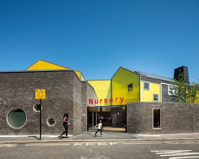 Bellenden Primary School. Cottrell and Vermeulen Architects