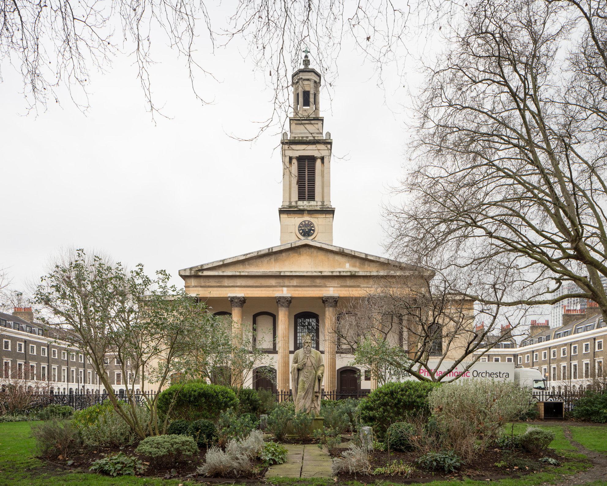 Holy Trinity Newington. Francis Octavius Bedford