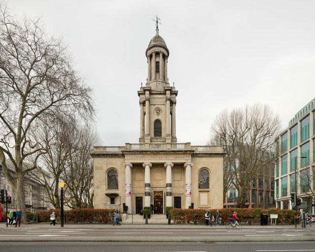 Holy Trinity Marylebone. Sir John Soane