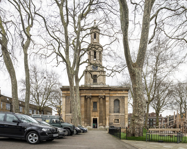 St John the Baptist, Hoxton. Francis Edwards