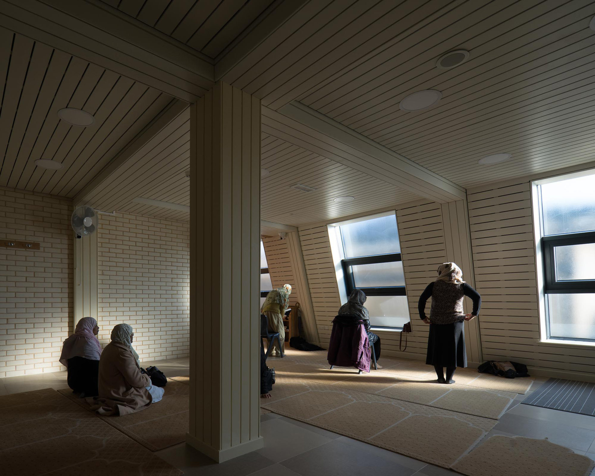 Croydon Mosque. Benedict O'Looney Architects