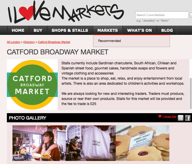 Catford Market Lewisham