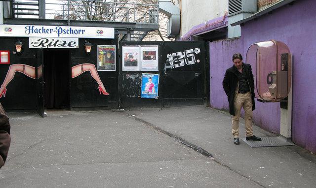 Dressed set - Strip Club Exterior