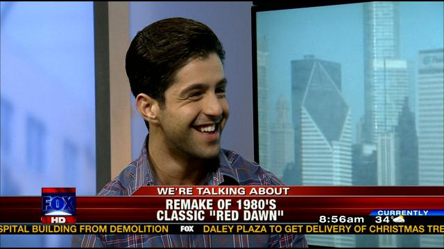 "Actor Josh Peck for ""Red Dawn"" Media Tour"