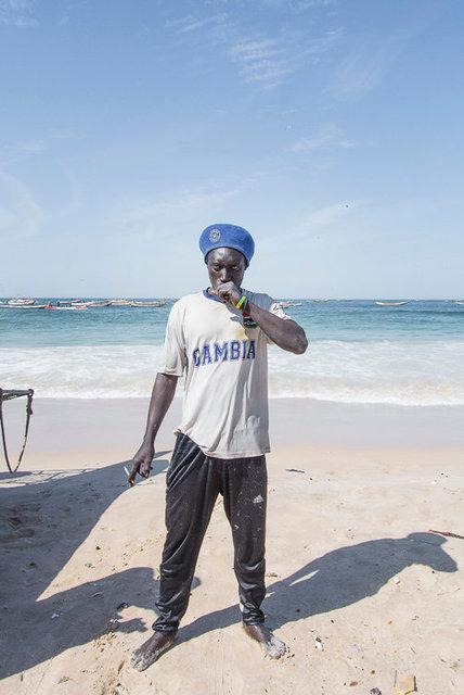John, 32, Gambia.
