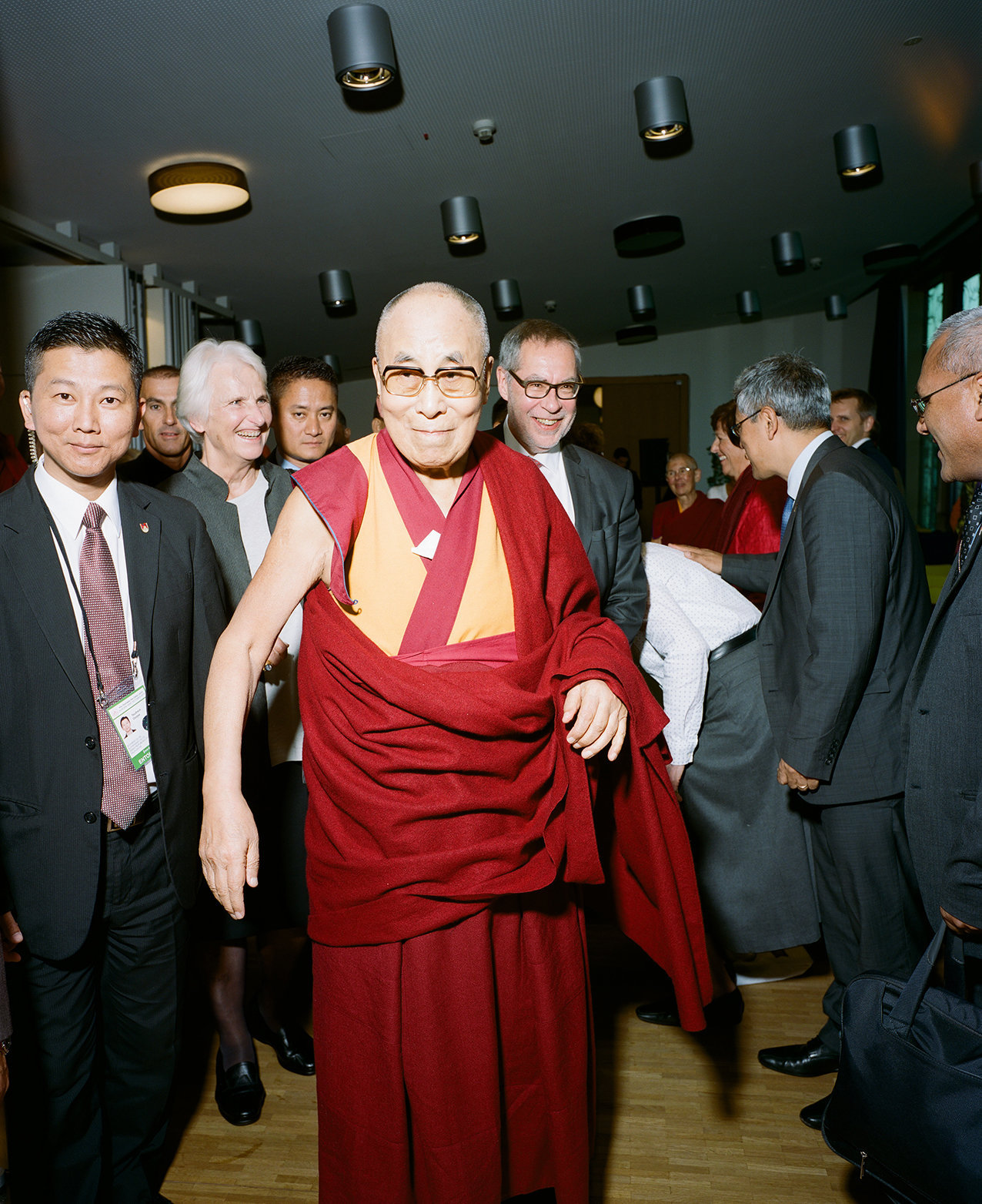 Dalai Lama for Bauart Architects