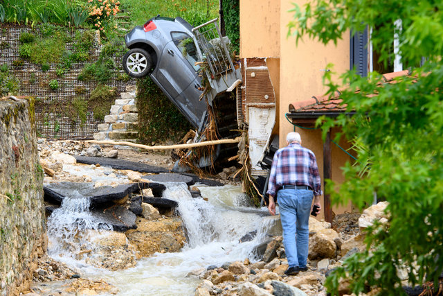 Inondations - Cressier - 2021
