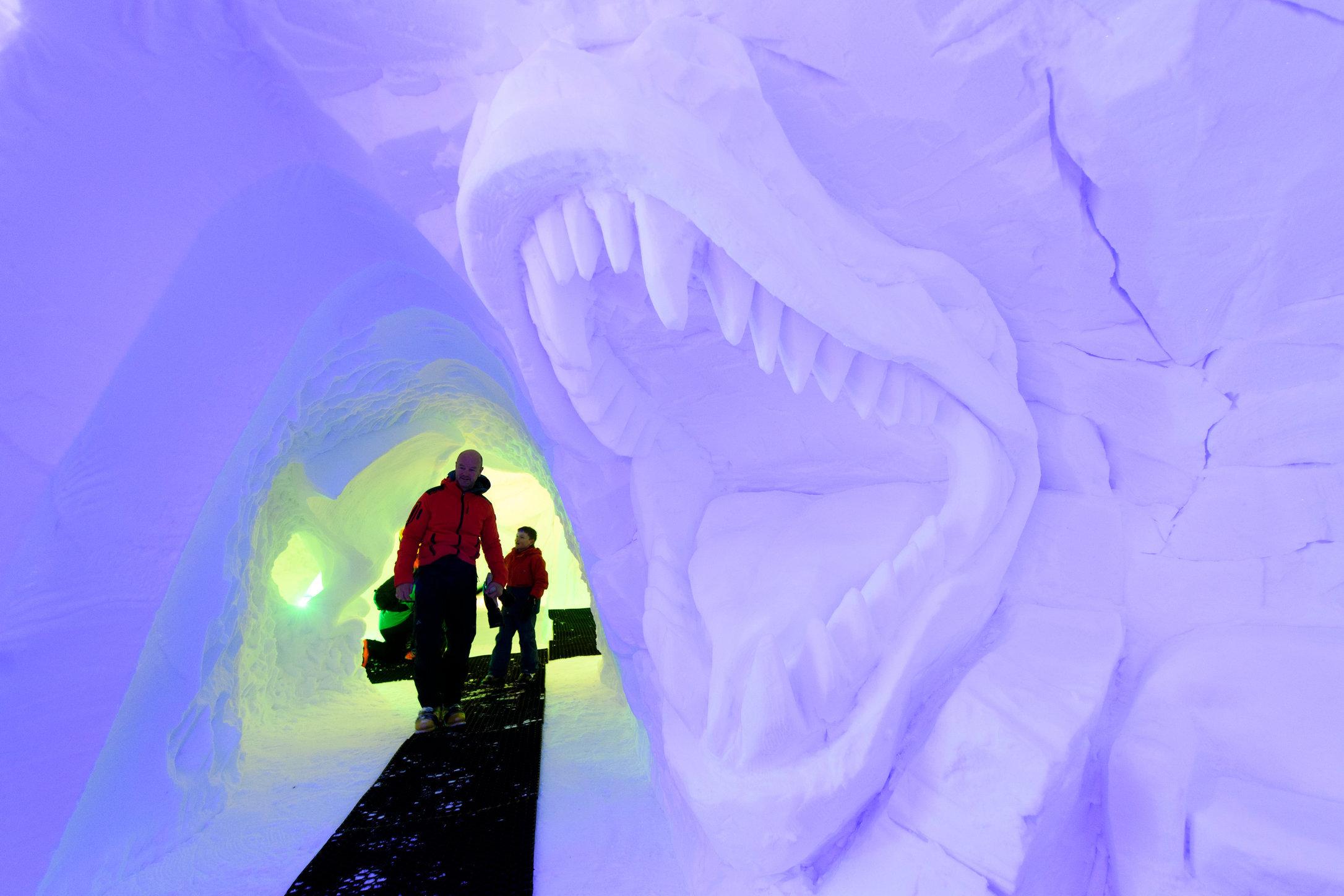 Snow sculpture - Thyon - 2017