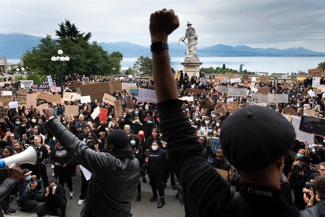 Black Lives Matter - Lausanne - 2020