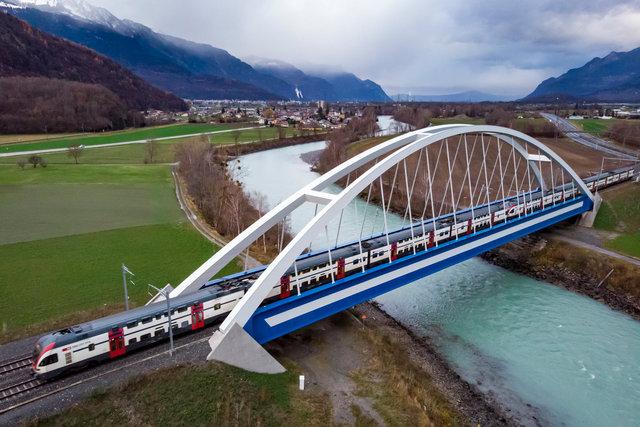 Pont du Rhône - Massongex - 2018