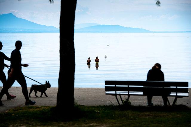 Coronavirus - Lake Geneva - 2020