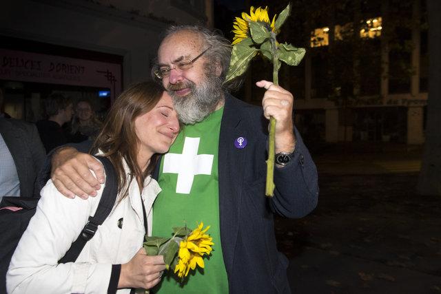 Les Verts - Elections Fédérales - Lausanne - 2019