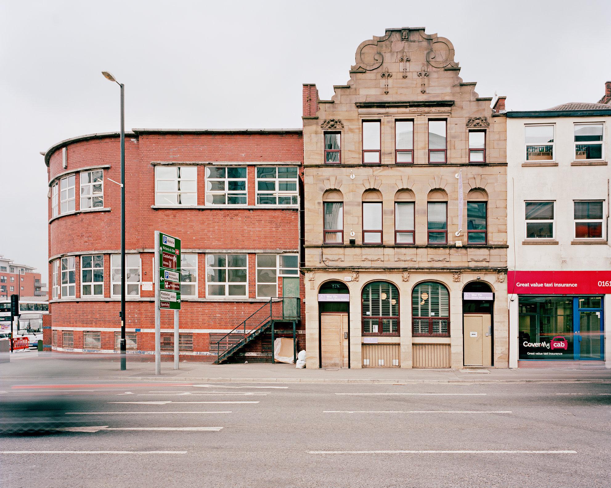 Former site of Swan Street Cholera Hospital, Manchester