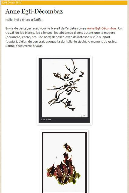 Blog Isabelle Lecomte 26.5.2014