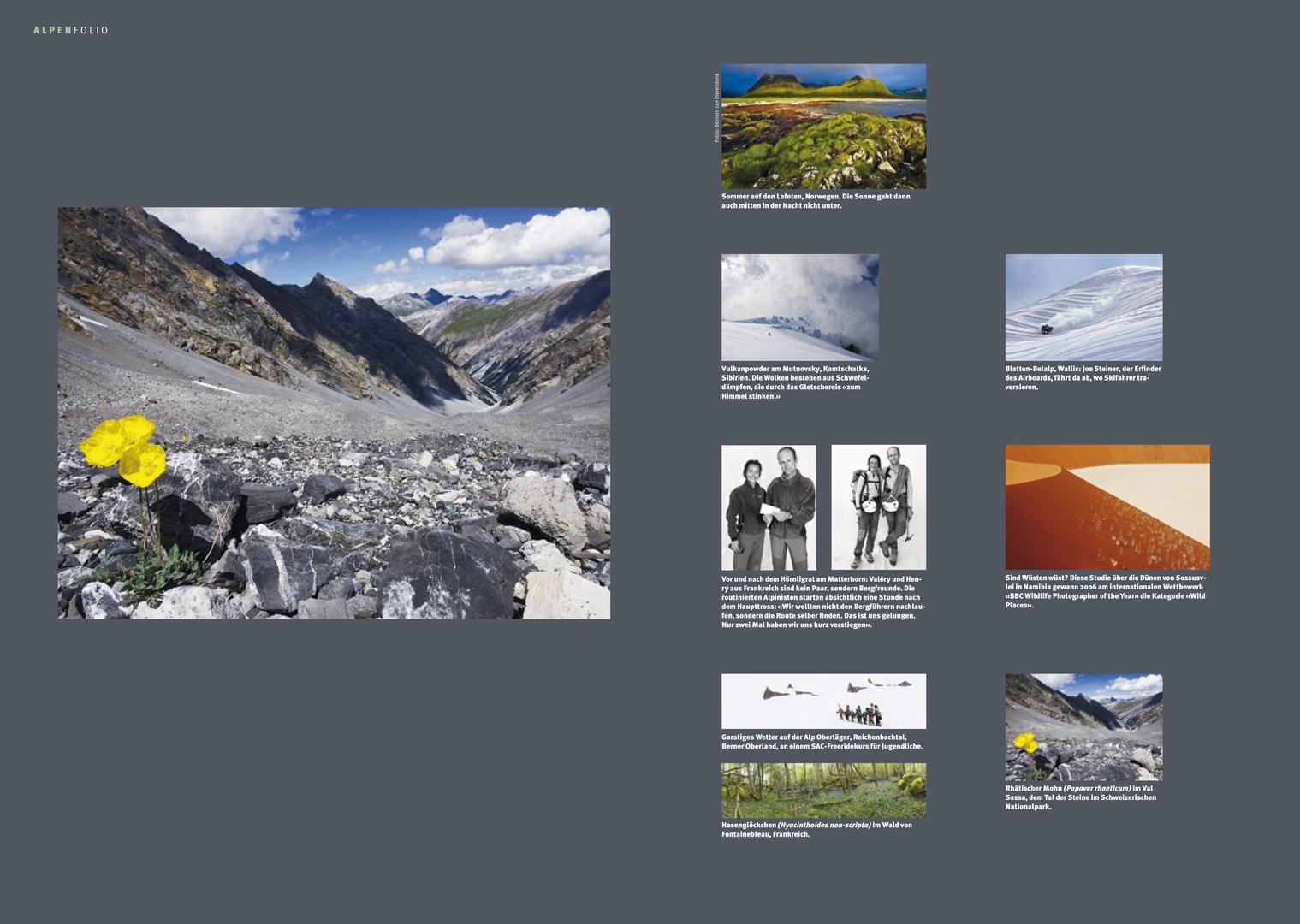 SAC - Die Alpen