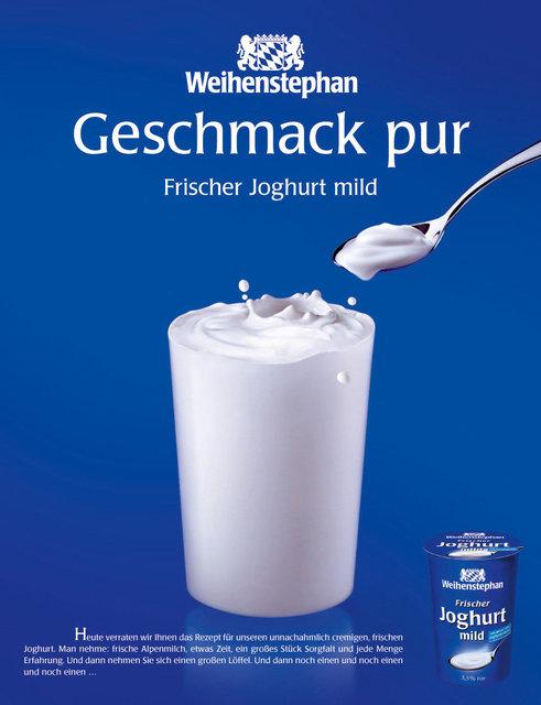Weihenstephan / Anzeigenkampagne